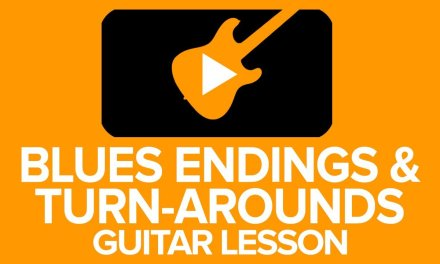 Andy's Lab – Blues Ending Licks Guitar Lesson