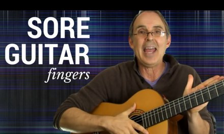 Sore Fingers? | Setup Your Acoustic Guitar For Easier Play (especially bar chords)