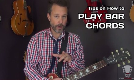 Quick Tips on How To Play Bar Chords – Beginner Guitar Lesson