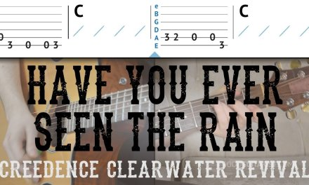 """""""Have You Ever Seen The Rain"""" Guitar Tutorial – CCR 