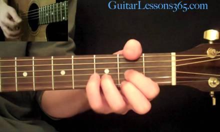 Karma Police Guitar Lesson – Radiohead