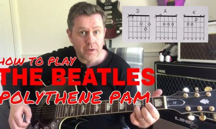 The Beatles – Polythene Pam – Acoustic Guitar Lesson (Chord Boxes)