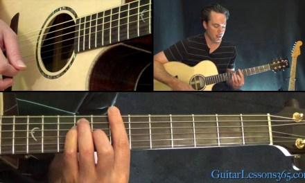 George Michael – Faith Guitar Lesson