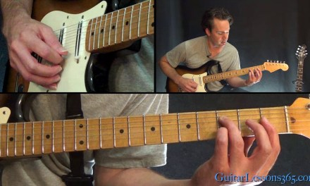Grace Guitar Lesson – Jeff Buckley