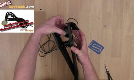 Guitar Hero World Tour Bass Pedal Repair