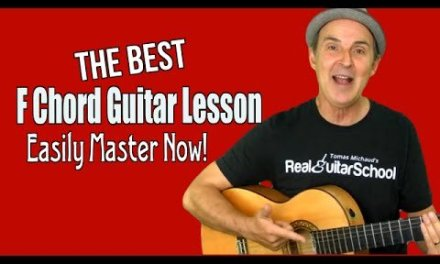 Best F Chord Guitar Lesson Easily Master F Major