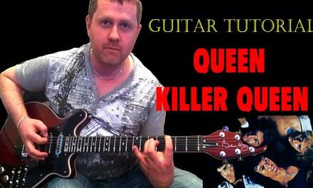 Killer Queen – Queen – Acoustic Guitar Lesson