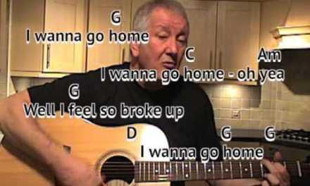 Sloop John B – Beach Boys – cover – easy chords guitar lesson with on-screen chords and lyrics