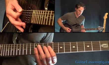 The Unforgiven Guitar Lesson Pt.2 – Metallica