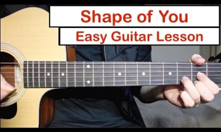 Ed Sheeran – Shape of You | EASY Guitar Lesson (Tutorial) How to play Chords/Melody