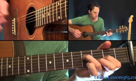 Adele – How to Play Hello – Guitar Lesson – Chords