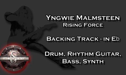 Yngwie Malmsteen – Rising Force – Backing Track + Rhythm Guitars in Eb