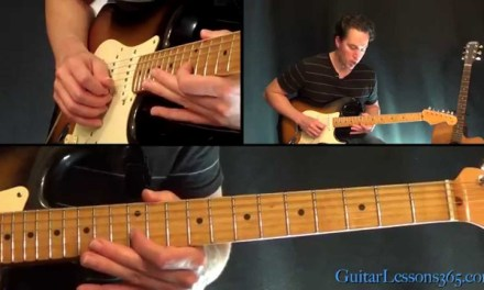 How to play Californication Guitar Solo – Red Hot Chili Peppers