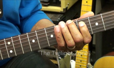 How To Play Moving Thirds On Guitar Fingering Dexterity Exercise Tutorial #3  EricBlackmonGuitar