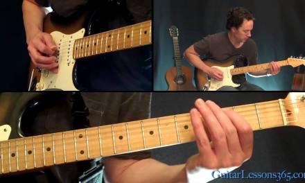 Poison Guitar Lesson – Alice Cooper – Famous Riffs