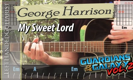 George Harrison – My Sweet Lord | guitar lesson