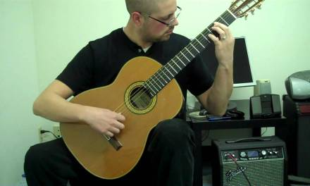 Nutcracker Classical Guitar – Dance of the Sugar Plum Fairy