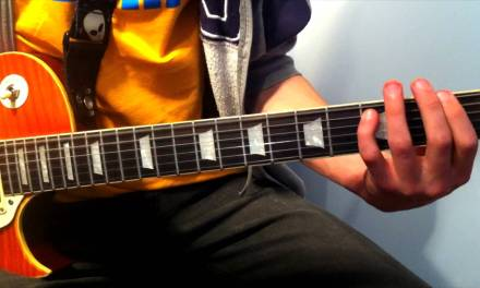 Welcome To The Black Parade – Guitar Lesson – My Chemical Romance – Simplified Version