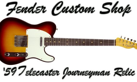 Fender Custom Shop 1959 Telecaster Journeyman Relic