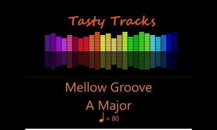 Mellow Groove – Guitar Backing Track Jam Track in A Major