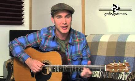 How to play The Heart Of Saturday Night by Tom Waits (Acoustic Guitar Lesson SB-107) + cover