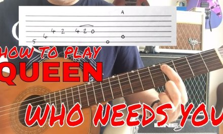 Queen – Who Needs You – Guitar Lesson (Guitar Tab)