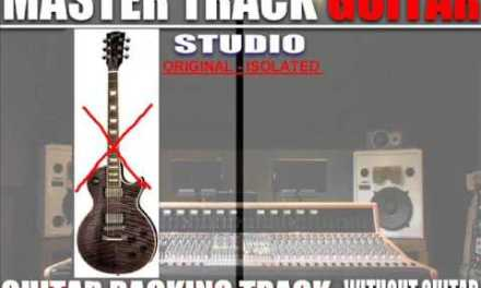 NICKELBACK Burn it to the ground (guitars backing track) without Solo