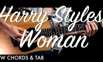 Harry Styles – Woman Guitar Tutorial Lesson w Chords & TAB  / Guitar Cover How to Play Easy Videos