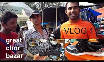 Chor bazar.. chandni chawk(exploring .. adidas originals shoes,watches,electronics)[GAURAV  VLOG-1]