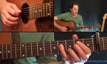 Rocky Mountain High Guitar Lesson – John Denver