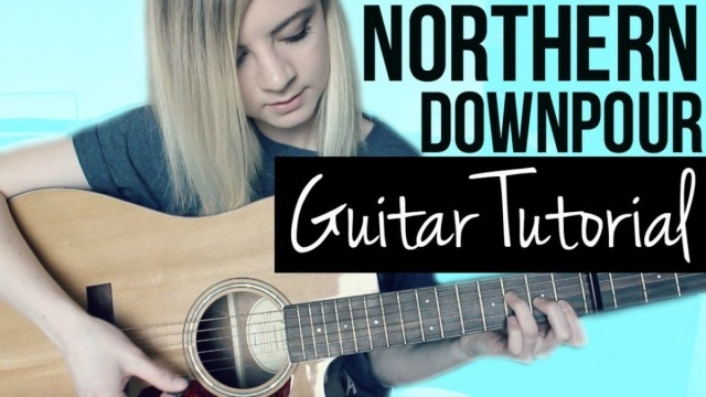 Northern Downpour Panic At The Disco Easy Guitar Tutorial The