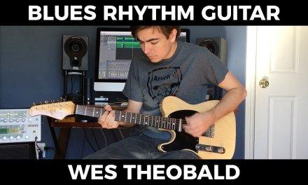 Blues Rhythm Guitar Lesson – Shuffle Guitar Patterns | Wes Theobald
