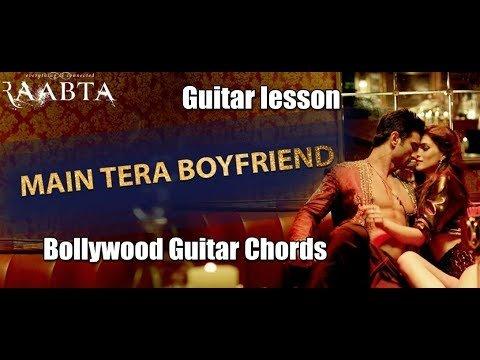 Main tera Boyfriend Song Guitar Lesson by Bollywood Guitar Chords ...