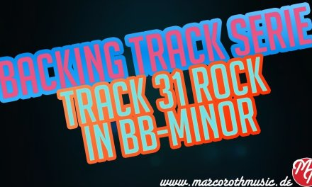 Rock Guitar Backing Track in Bb-Minor Nr.31 | Marco Roth Music
