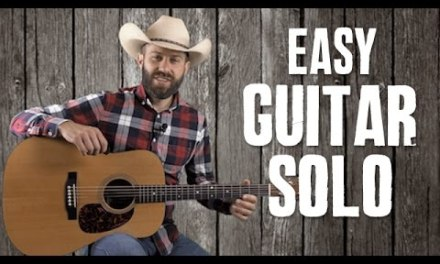 Easy Guitar Solo for Wabash Cannonball – Guitar Lesson
