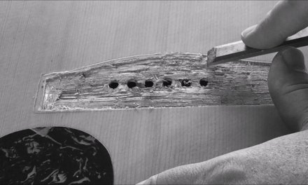 THE BRIDGE TO SOUND (guitar repair) JPOM