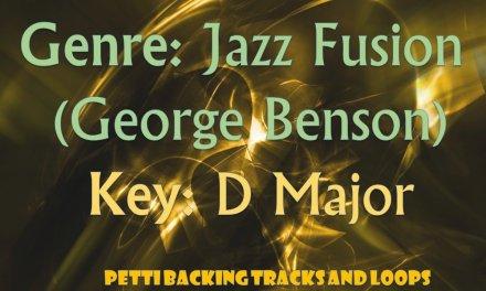 D Major – Jazz Fusion (George Benson) Guitar Backing Track
