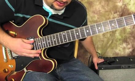 Guitar Scales Lessons – Intermediate and Advanced – Modes – Minor – Dorian Mode