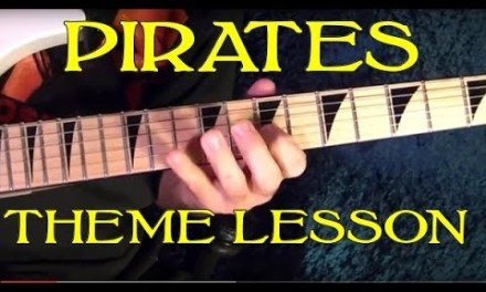Pirates of the Caribbean Theme – Guitar Lesson