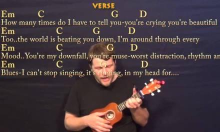 All Of Me (John Legend) Soprano Ukulele Cover Lesson with Chords / Lyrics