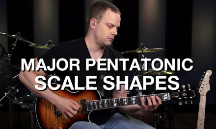 Major Pentatonic Guitar Shapes – Lead Guitar Lesson #11