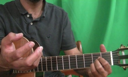 Guitar Lessons: A Major Barre Chords and Chord Tone Soloing