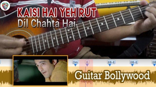 """Learn2Play """"Kaisi Hai Yeh Rut"""" (Dil Chahta Hai) chords – Guitar ..."""