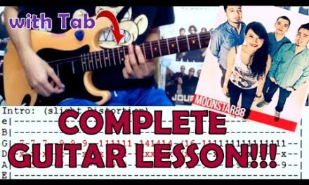 Migraine – Moonstar88(Complete Guitar Lesson/Cover)with Chords and Tab