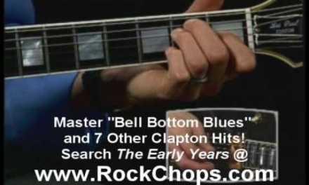Eric Clapton Tabs Bell Bottom Blues Video Guitar Lesson Der