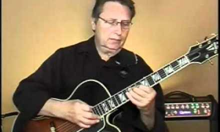 NIGHT AND DAY ARPEGGIO STUDY FOR JAZZ GUITAR IMPROV