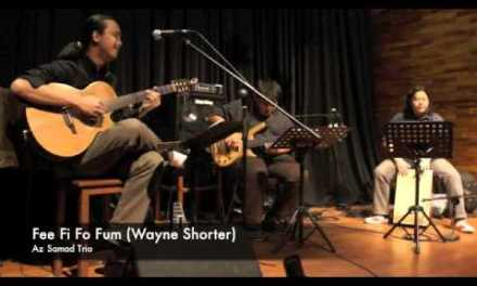 Wayne Shorter – Fee Fi Fo Fum (Jazz Guitar) – Az Samad Trio
