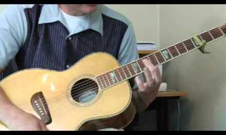 Willie Brown Guitar Lesson – Mississippi Blues Part 3