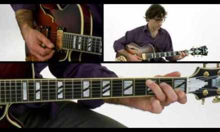 1-2-3 Jazz Chord Melody – #3 Major Chords: C – Guitar Lesson – Frank Vignola