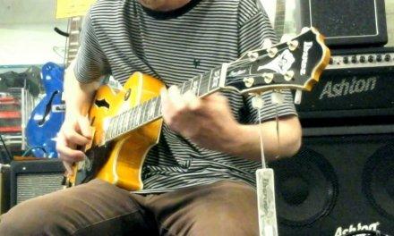 Ibanez George Benson Signature Guitar 2017 | Minor Blues Improvisation